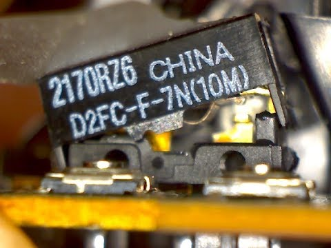 Inside the Omron D2FC-F-7N Microswitch