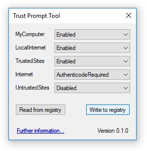 Trust Prompt Tool