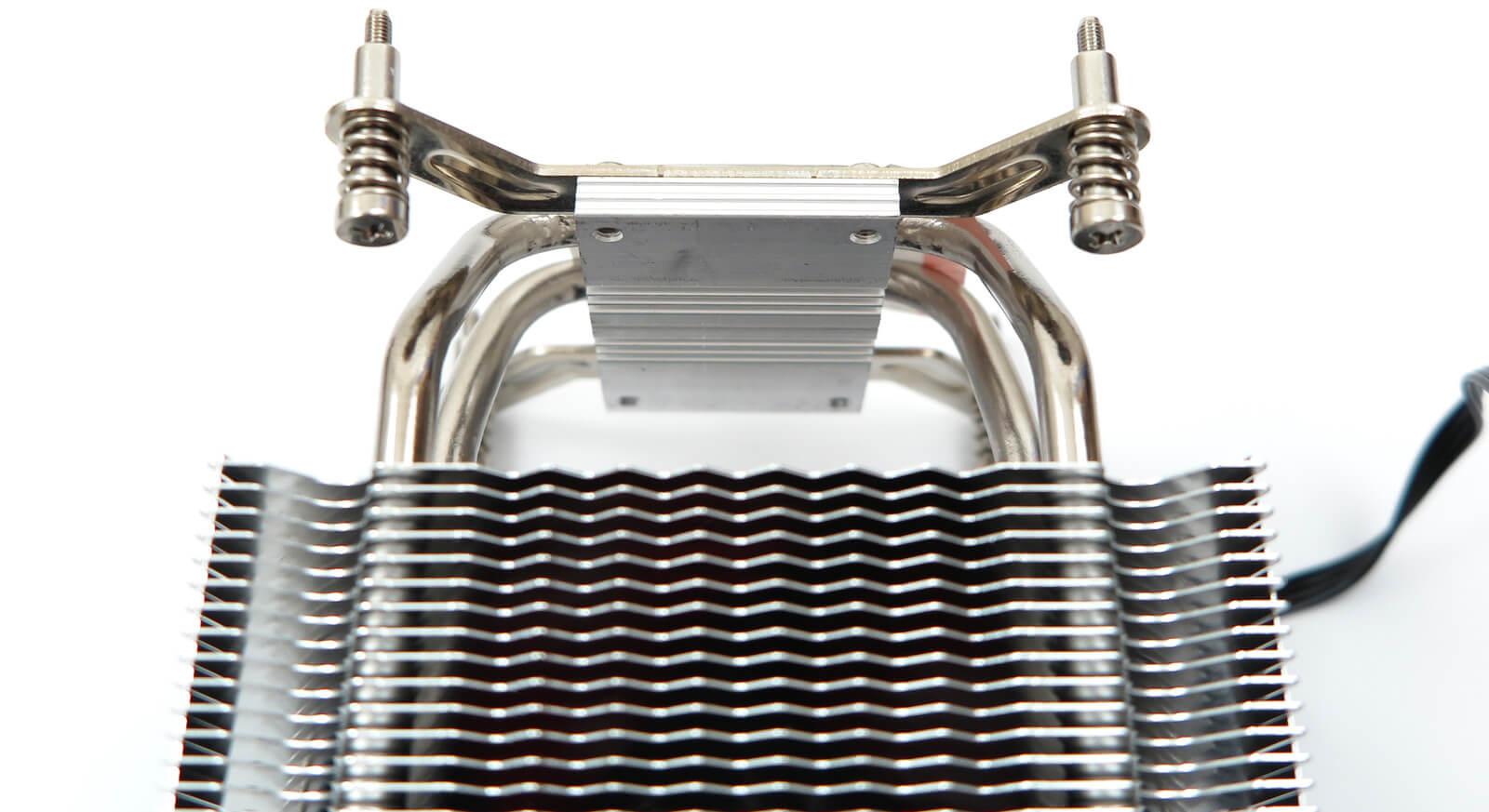 CPU cooler in original configuration